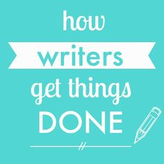 How Writers Get Things Done — The Cardinal Press