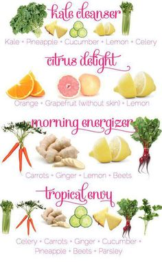 looove all of these and they are all on my weekly grocery list-#Cleanse