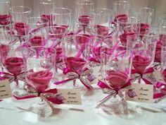 Lembrancinhas Criativas para Casamentos: Lembrancinha para casamento tacinhas