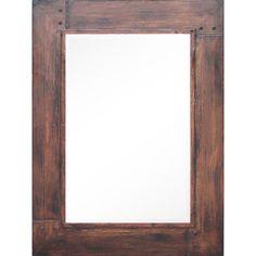 Ren Wil Brigantine Framed Rectangular Mirror