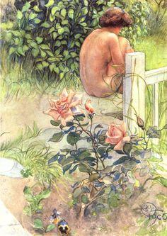 Блог Николая Подосокорского 21+ - Шведский художник Карл Улоф Ларссон (1853-1919). Часть IV