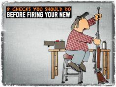 8 Checks You Should Do Before Firing Your New Gun