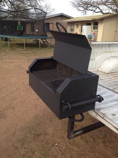 River cooker (griller) that you can hook up into a receiver hitch.  $300 Visit: www.bradyshope13.com