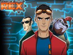 Generator Rex (no Brasil, Mutante Rex), é uma série de desenho animado americana do gênero...