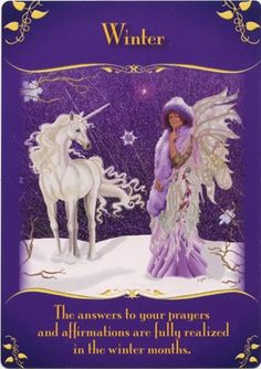 Winer oracle card