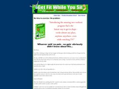 ① Get Fit While You Sit. - http://www.vnulab.be/lab-review/%e2%91%a0-get-fit-while-you-sit