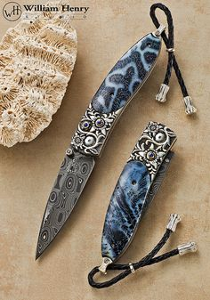 The Monarch 'Coral Sea' Folding Knife by William Henry Studio, via Flickr