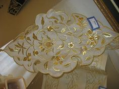.Turkish gold embroidery
