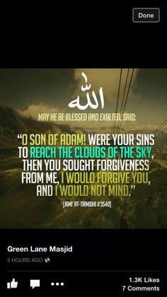 Allahu Akbar...Allah is the most forgiving. ♥