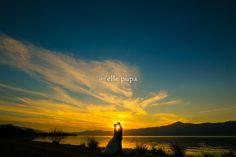 サンセットコレクション -びわ湖で夕日前撮り- |*ウェディングフォト elle pupa blog*