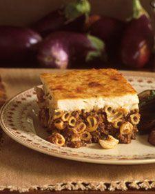 Pastitsio. The ultimate Greek comfort food.