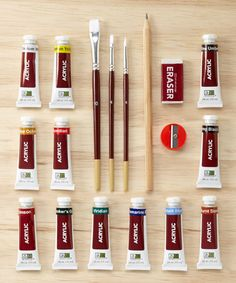 Loving this Acrylic Travel Paint Set on #zulily! #zulilyfinds