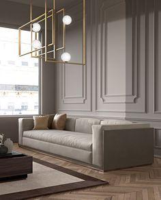 Enhance Your Senses With Luxury Home Decor Modern Classic Interior, Interior Design Minimalist, Luxury Interior Design, Luxury Home Decor, Interior Architecture, Neoclassical Interior Design, House Paint Interior, Interior Walls, Interior Plants
