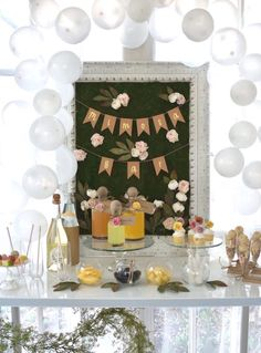 DIY Springtime Mimosa Bar on Kara's Party Ideas | KarasPartyIdeas.com (10)