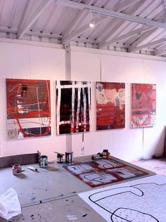 "Figure out even more details on ""abstract artists studios"". Look into our internet site. Artist Art, Artist At Work, Painters Studio, Atelier D Art, My Art Studio, Dream Studio, Art Plastique, Art Studios, Abstract Art"