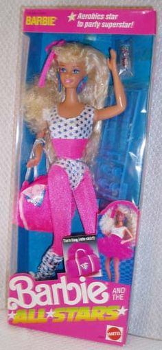 Barbie and the All Stars.  I totally had this Barbie Aerobics video!!!!