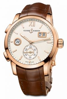 Ulysse Nardin Dual Time Manufacture Ref. 3346-126_90 – ivory dial, non-limited