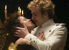 Kiera Knightley and Aaron Taylor-Johnson. Anna Karenina 2013.