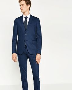 CHINTZ SUIT-SUITS-MAN-COLLECTION AW16   ZARA Thailand