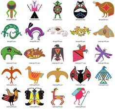 Southwest Design native american bear patterns   native american designs   native