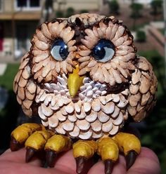 Polymer-Clay-Baby-Owl-figurine.jpg (617×650)