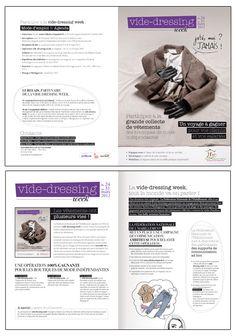 Communication  FNH : Vide-dressing week, plaquette de présentation © Sous Tous les Angles