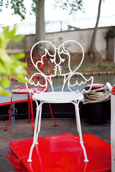 Banquette de jardin fer forgé noir SAINT-GERMAIN 139€ noir ou blc ...