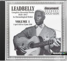 Lead Belly - Complete Recorded Works 1939 - 1947, In Chronological Order, Vol. 1 (Document)