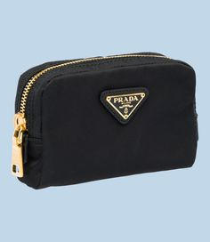 I use Prada cosmetic bags to hold everything in my large purses-by category. it works! Prada Purses, Prada Bag, Large Purses, Purses And Bags, Bowling Bags, Best Handbags, Cosmetic Pouch, Leather Pouch, Hobo Bag