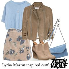Lydia Martin inspired outfit/TW by tvdsarahmichele on Polyvore featuring moda, McQ by Alexander McQueen, HOBO, Finn, women's clothing, women's fashion, women, female, woman and misses