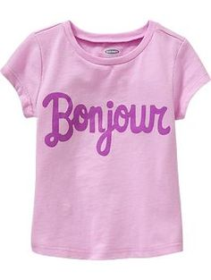 Graphic Tees for Baby   Old Navy