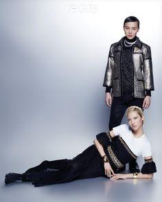 G-Dragon & Soo Joo // Vogue Korea