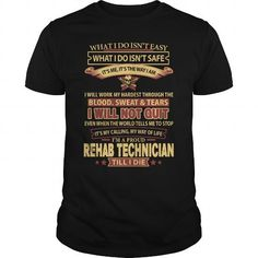 REHAB-TECHNICIAN T-SHIRTS, HOODIES, SWEATSHIRT (21.99$ ==► Shopping Now)