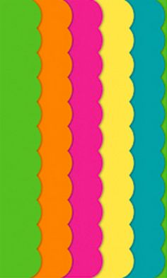 Such cheery scalloped tissue paper http://rstyle.me/n/gzzemnyg6