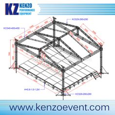 Outdoor stage roof truss show stage roof canopy roof for Buy roof trusses