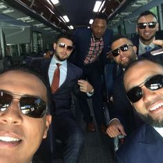 Heading to the White House with the boys! @mrzoombiya1 @salvadorp13 @paulo_orlando16 @kelvinherrera40 #papo #kmo