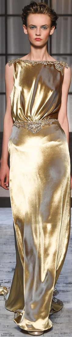Schiaparelli Couture Fall 2015 like the back more than the front. .... and prefer it in silver or black