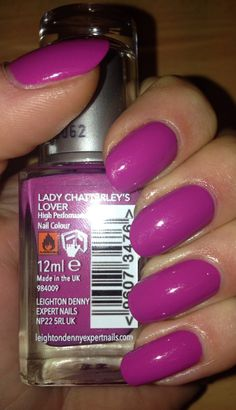 Leighton Denny nail polish, Lady Chatterley's Lover