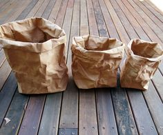 kraft washable paper bags