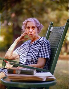 Eudora Welty (1909-2001), Pulitzer Prize for The Optimist's Daughter.  Her short stories & novels about the American South ~ with her mastery of imagery, sharp dialogue & barbed wit ~ transcend their locale & hold universal appeal.