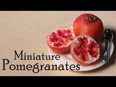 Miniature Pomegranates - Polymer Clay Tutorial - YouTube