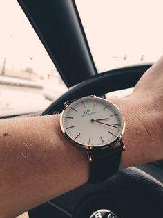 Just got my boyfriend a new Daniel Wellington watch and he is loving it! He looks so handsome in it! Use the discount code MOMO6_DW to get 15% off your purchase!