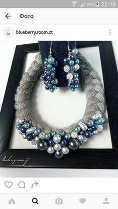 (1) Одноклассники Textile Jewelry, Fabric Jewelry, Beaded Jewelry, Jewelry Necklaces, Beaded Bracelets, Leather Necklace, Diy Necklace, Handmade Necklaces, Handmade Jewelry