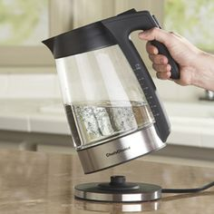 Shop Chef'sChoice Glass Electric Kettle at CHEFS.