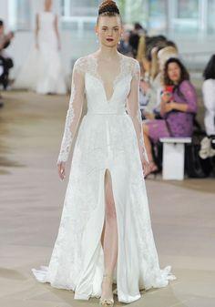 INES DI SANTO SPRING 2018 BRIDAL RUNWAY SHOW Santos Wedding
