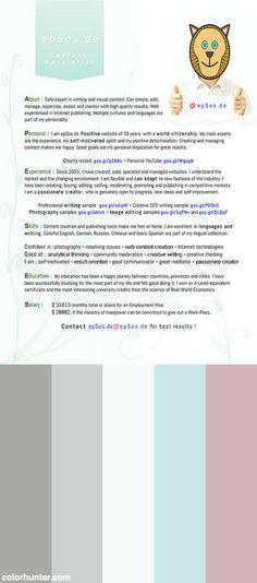 Best CV Design for Résumé of Creative People Design Pinterest - examples of a cv