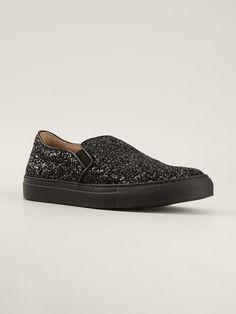 L'autre Chose Sequins Slip-on Sneakers