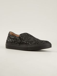 L'autre Chose Sequins Slip-on Sneakers