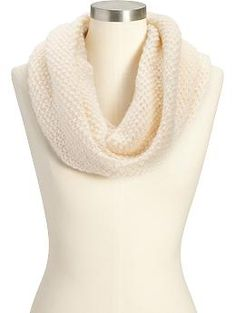 Women's Chunky-Knit Funnel Scarves   Old Navy