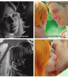 #Shadowhunters #TMI #Clace (holy freak Clary's hair is so bright orange lol) ~claire_valdez